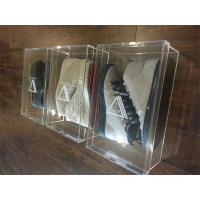 Wholesale wholesale latest design clear acrylic  shoe display box from china suppliers
