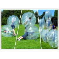 Wholesale CE Pump 1.0mm PVC Knocker Inflatable Bumper Ball Transparent For Soccer Game from china suppliers