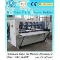 Wholesale Vertical Cutting Paper Printing Slotting Machine For Pressing / Folding Marker from china suppliers