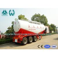 Wholesale Anti Explosion Bulk Cement Tank Semi Trailer For Powder Material Transport from china suppliers
