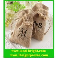 Wholesale new stytle jute drawstring bag from china suppliers