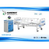 Wholesale Lightweight Manual Hospital Bed , Hospital Adjustable Bed 250 Kgs Weight Capacity from china suppliers