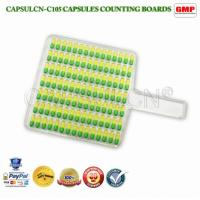 Wholesale Manual Pill / Capsule Counting Machine / Capsule Counter Tray 105pcs / Time from china suppliers
