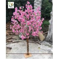 Wholesale UVG customized small artificial cherry blossom tree uk for wedding table decorations CHR159 from china suppliers
