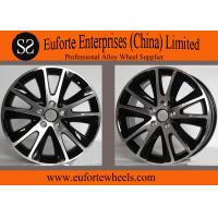 Wholesale 17inch European Wheel Black Machine Face / TIGUNA Off Road wheel from china suppliers