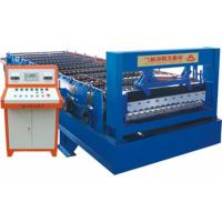Wholesale Steel Panel Corrugated Tile Forming Machine , Roof Sheet Making Machine from china suppliers