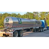 Wholesale 304 Stainless steel water milk  tanker trailer Stainless Steel Tanker Trailer For Milk and Edible oil App:8615271357675 from china suppliers