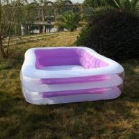 Wholesale Adults Inflatable Pool, suitable for summer leisure use, customized colors welcomed from china suppliers