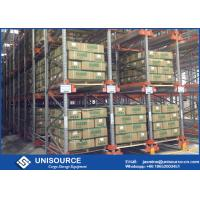 Wholesale Flexible Drive Through Pallet Racking , Automated Cold Storage Radio Shuttle System from china suppliers
