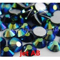 Wholesale Jet ab 2016 New Strass Crystal Rhinestone Applique Rhinestones Non Hotfix Glue On beads from china suppliers