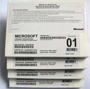 Wholesale SAMPLE FREE Microsoft Windows 7 Product Key Sticker , Windows 7 Professional COA Sticker from china suppliers