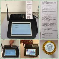 Wholesale 7 Inch Screen Android POS Terminal , Fingerprint Identification Point of Sale for Android from china suppliers