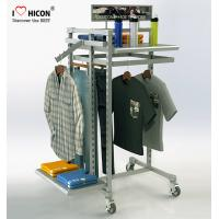 Wholesale MOQ 20pcs Clothing Store Fixtures Factory Price Metal Clothing Rack For Retail Store from china suppliers