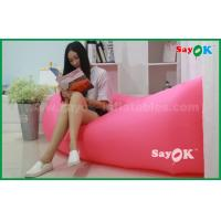 Wholesale 200 X 70cm Outdoor Beach Lazy Air Nylon Sleeping Sofa / Bag Air Lounge from china suppliers