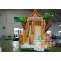Wholesale Residential Backyard Rent Inflatable Slides Indoor With Tree Shape from china suppliers