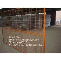 Wholesale Hot selling Canada type welded mesh temporary fence best price from china suppliers