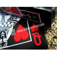 Quality Bicycle Black Tiger Ellusionist Plastic Playing Cards With Invisible Ink Markings for sale