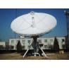 Buy cheap 6.2m C/ku Band Satellite Antenna, 6.2m earth station c / ku, rx/tx satellite dish from wholesalers