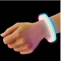 Buy cheap glowing in dark silicone bracelet manufacturer from wholesalers