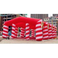 Quality 12m Red Pvc Printing Inflatable Wedding Tent for Wedding and Party for sale