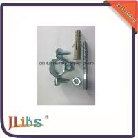 Quality Welding Galvanised Steel Pipe Clamp Fittings  With Nut Screw round pipe clamps for sale
