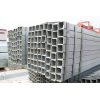 Wholesale Black Rectangular Steel Tubing , Cold Rolled Pre Galvanized Steel Pipe With Strip Bundle Packing from china suppliers