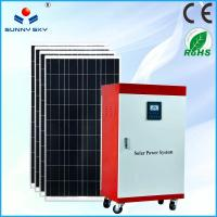 Wholesale CE and RoHs certified 1000watt solar home system mini projects solar power systems from china suppliers