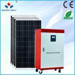 cost saving 5kw solar power plant heating solar power system home solar generator solar energy with cheap price TY082B