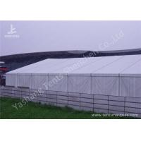 Wholesale Anodized Aluminum Alloy Frame Clear Span Structures with UV Repellent Fabric Cover from china suppliers