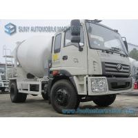Wholesale Foton Rowor C1 Cab 4X2 Truck 180 Horsepower Transport Mixer 5 M3 Mixing Capacity from china suppliers