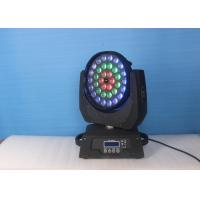 Buy cheap 36 X 18W  RGBW UV LED Beam Moving Head Light , Led Stage Lighting from wholesalers
