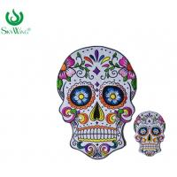Wholesale Commercial Personalised Embroidered Badges / Sugar Skull Back Patch from china suppliers
