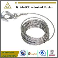 Wholesale 6*19+IWS 4.0mm Lifting Sling/304 stainless steel wire rope sling from china suppliers