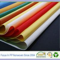 Wholesale 100% polypropylene raw materials non-woven spunbond fabrics from china suppliers