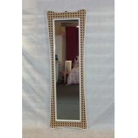 Wholesale Spot Slender waist framed full length floor mirror from china suppliers