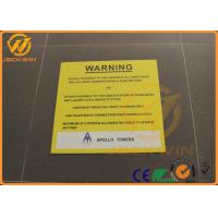 Wholesale Customs Aluminum Caution Warning Signs 5 Years Warranty Rectangular Road Signs from china suppliers