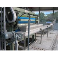 Wholesale 28KW Waste Water Filter Press , Zero Hold Up Filter Press Belt Type from china suppliers