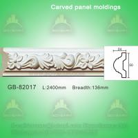 Wholesale European- style Environmental Decorative PU Plain Panel Mouldings from china suppliers