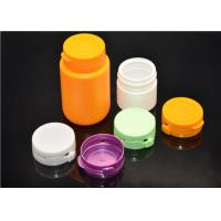 Wholesale PE Plastic Medicine Bottles Capsule / Pill Pharmaceutical Containers With Lids from china suppliers