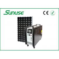 Wholesale hight efficiecy 12V 400W stand alone solar power system for household lighting from china suppliers
