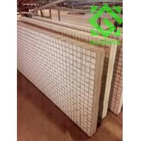 Mesh embeded perlite board for partition wall boardl wall for Fireproof wall insulation