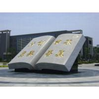 Wholesale Memoring ancient book stone statue for sale from china suppliers
