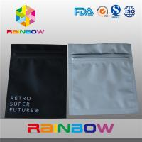Wholesale Aluminum Foil Plastic Electronics Packaging Bag Three Side Seal Zipper Pouch from china suppliers