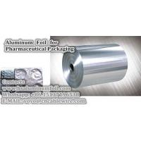 China Aluminum Foil for Pharmaceutical Packaging for sale