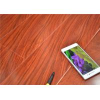 Wholesale U Bevel pressed Red Cherry High Gloss Laminate Flooring  Sound Absorbing from china suppliers