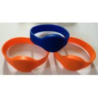 Wholesale NTAG203 chip NFC soft silicone wristband, NFC intelligent Proximity silicone wristband, NTAG213, NTAG216 wristband from china suppliers