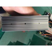 Buy cheap 6063 Extruded Grey Anodized Aluminum Heat Sink With CNC Milling Holes from wholesalers