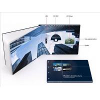 Wholesale Promotional handmade digital video brochure , Multi - page lcd video card from china suppliers