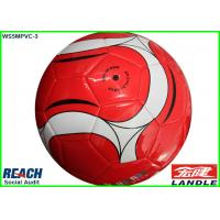 Wholesale Custom Printed Rubber Soccer Balls / Hand Sewn Footballs Size 4 from china suppliers