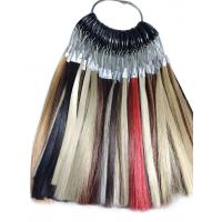 Wholesale Synthetic Wig Fiber Hair Color Ring Chart For High Temperature from china suppliers